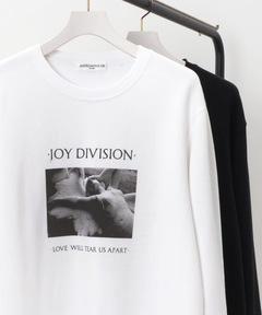 """ジョイ・ディヴィジョン Joy Division / アートワークスウェット """"LOVE WILL TEAR US APART"""""""