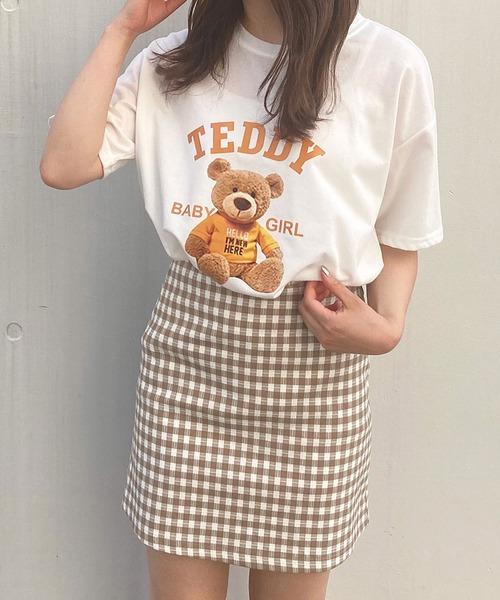【Crea titty&Co.PETIT】Crea ギンガムミニスカート