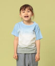 【coen キッズ/ジュニア】グラデーションタイダイTシャツ