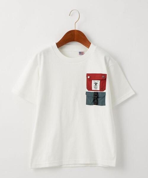 【別注】TJ EX<grn outdoor(ジーアールエヌ アウトドア)>ポケットTシャツ M-L