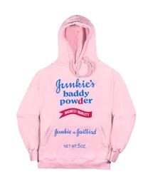 JUNKIE'S BADDY POWDER HOODIEピンク