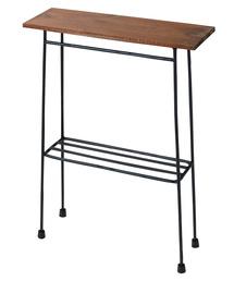 haco!(ハコ)のスリムで少し背が高い ちょい置き細長テーブル(家具)