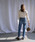 select MOCA(セレクトモカ)の「プチハイネック美シルエットフレアスリーブバックジップ総レース長袖ブラウス(シャツ/ブラウス)」|詳細画像
