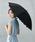Wpc.(ダブリュピーシー)の「日傘 晴雨兼用 遮光クラシックフリル(長傘)」|ブラック
