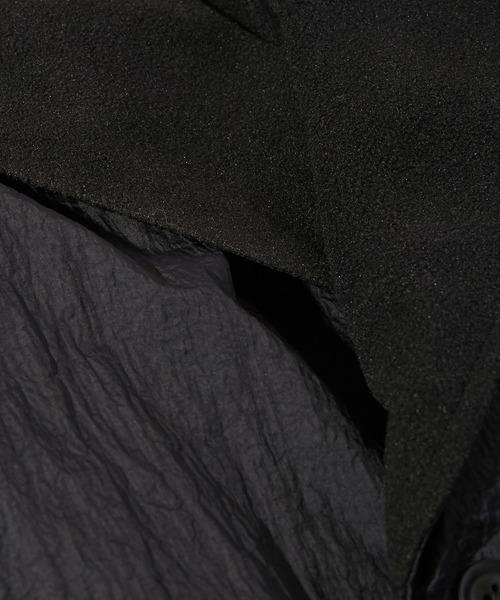 KICS DOCUMENT. / キクスドキュメント NYLON HUGE COAT