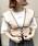 archives(アルシーヴ)の「配色ビスチェ×半袖TシャツSET(Tシャツ/カットソー)」|詳細画像