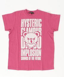 BEAR IMPLOSION pt ビッグTシャツ【S/M】マジェンタ