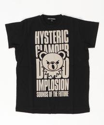 BEAR IMPLOSION pt ビッグTシャツ【S/M】ブラック