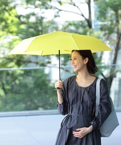 merrier BEAMS(メリアビームス)の「merrier BEAMS / VERYKAL 自動開閉 折り畳み傘(折りたたみ傘)」|イエロー