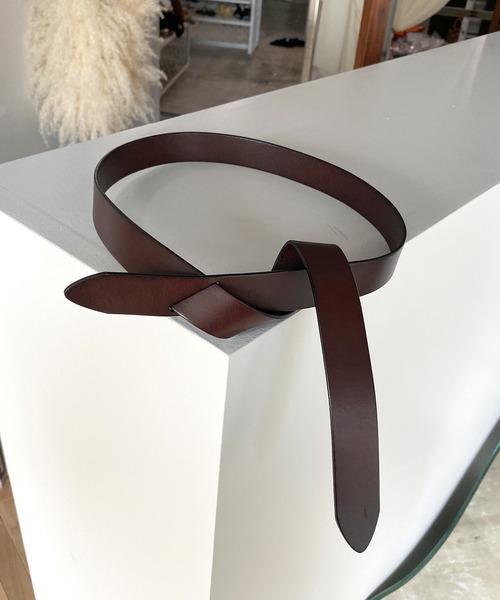 【chuclla】【2020/AW】cow-leather belt レザーベルト cha181
