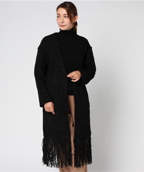 warm tweedフリンジCT