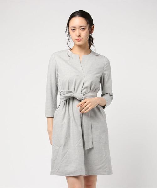 激安通販の SMILEブローチ付きウールワンピースドレス(ドレス) SMILE ORCHID(スマイルオーキッド)のファッション通販, スクールショップコヤマ:9010cbf5 --- ruspast.com