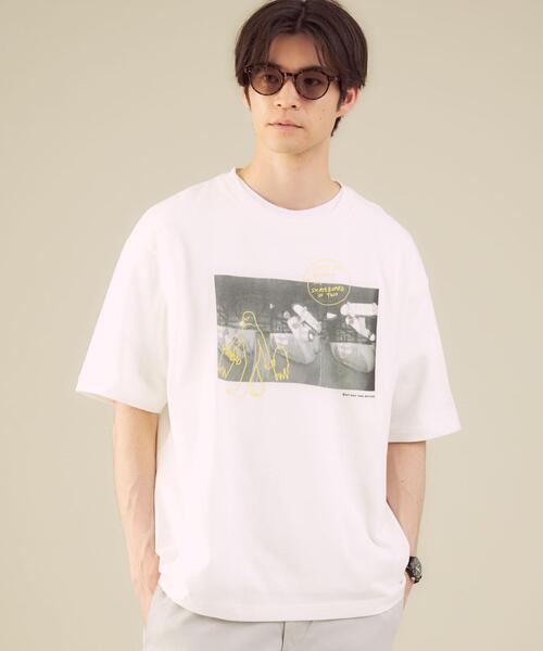 別注 [ マークゴンザレス ] Mark Gonzales 半袖 Tシャツ 男女兼用 ユニセックス