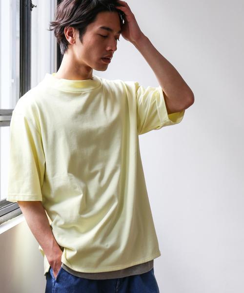 BC DRY WIDE HI/N 5/SL 5分袖 Tシャツ<機能性素材> ◆