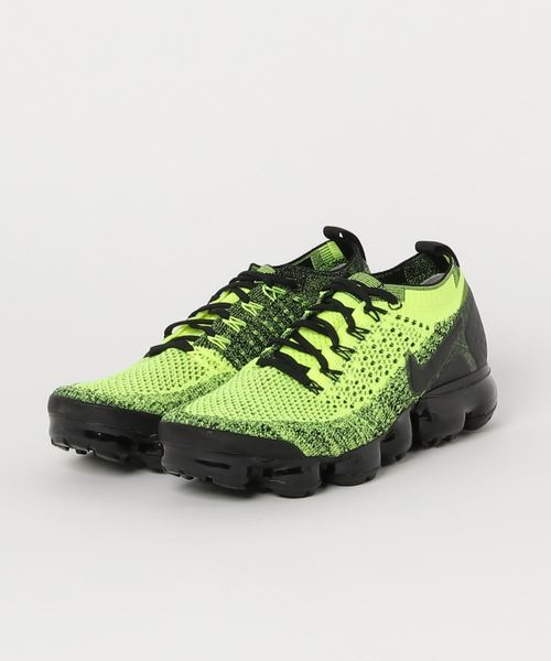 quality design c8b46 59e39 NIKE AIR VAPORMAX FLYKNIT 2 (VOLT/BLACK-VOLT) 【SP】