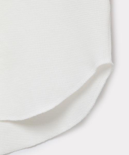 ワッフルレイヤードTシャツ(長袖)