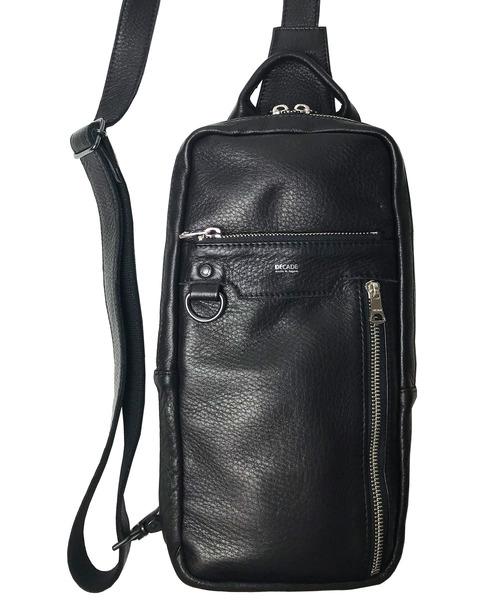 『2年保証』 オイルドカウレザー・ボディワンショルダーバッグ DECADE(No-01182) Cow Oiled Shoulder Cow Leather Leather Body Shoulder Bag(ボディバッグ/ウエストポーチ)|DECADE(ディケイド)のファッション通販, 吉田町:3105116d --- planetacarro.net