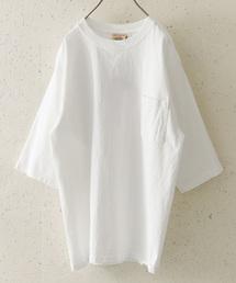 Goodwear(グッドウェア)のGoodwear×DOORS 別注6分袖ポケットTシャツ(Tシャツ/カットソー)