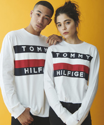 TOMMY HILFIGER(トミーヒルフィガー)の【オンライン限定】ビッグ フラッグ Tシャツ / UPSTATE FLAG LS TEE(Tシャツ/カットソー)