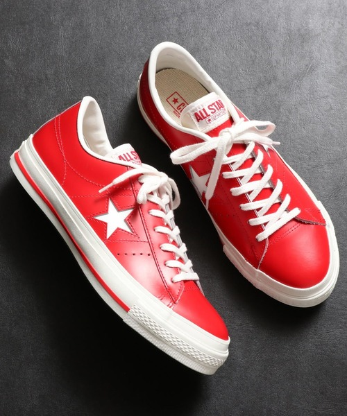 セール】CONVERSE ONE STAR J (RED)(スニー