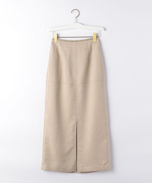 【EMMEL REFINES】〔ハンドウォッシャブル〕SMF HW スエードライク スカート