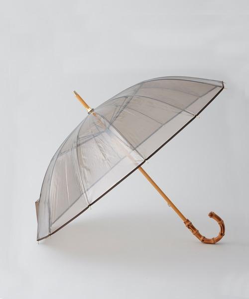 TRADITIONAL WEATHER WEAR / 'VINYL UMBRELLA BAMBOO' 長傘