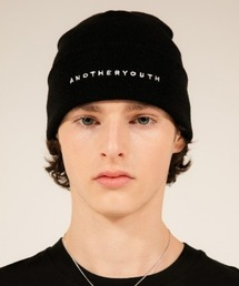 ANOTHERYOUTH(アナザーユース)の【ANOTHERYOUTH basic essential】basic logo beanie(ニットキャップ/ビーニー)