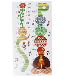 チャイハネ(チャイハネ)の【チャイハネ】お子様の身長を測れるスケールデコステッカー(インテリアアクセサリー)