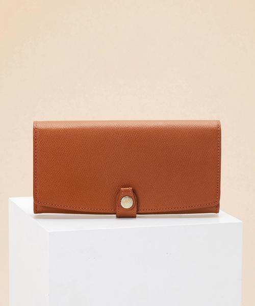 52d0e0a09b31 TOPKAPI(トプカピ)のCOLORATO[コロラート]角シボ型押し長財布(