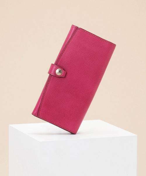4ee8eaf7c950 TOPKAPI(トプカピ)のCOLORATO[コロラート]角シボ型押し長財布(
