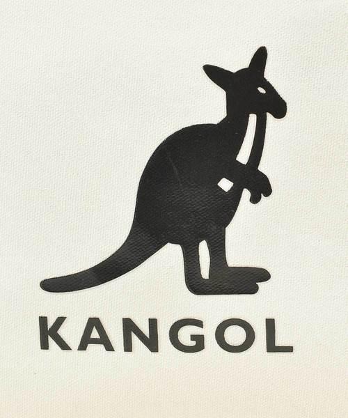 KANGOL 帆布ショルダーバッグ