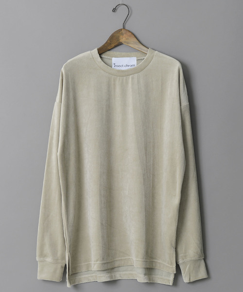 insect chrom/インセクトクローム/ベロア ロングスリーブTシャツ
