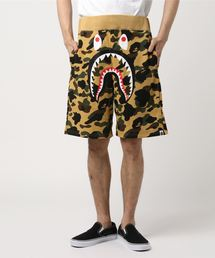 1ST CAMO SHARK SWEAT SHORTS M(パンツ)