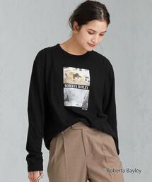 [別注 グッドロックスピード] SC GOOD ROCK SPEED × GLR ROBERTA BAYLEY ロングスリーブ Tシャツ