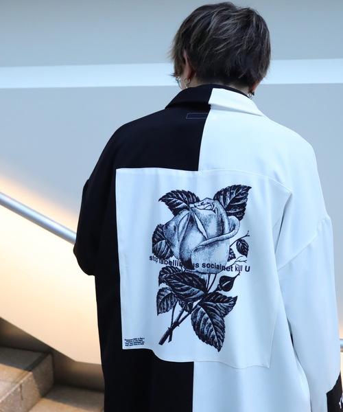 AFYF(エーエフワイエフ)の「AFYF BASIC OVERSIZEDBILINGUAL ART SHIRT/ベーシック オーバーサイズ バイリンガルアートシャツ(シャツ/ブラウス)」|ホワイト系その他5