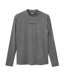 APPLE PANDA刺繍 モックネックTシャツ