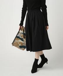 AZUL BY MOUSSY(アズールバイマウジー)のカラーリバーシブルミディSK(スカート)
