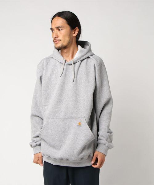Carhartt(カーハート)の「Carhartt(カーハート) Midweight Hooded Sweatshirts フード付きスウェット(パーカー)」|グレー
