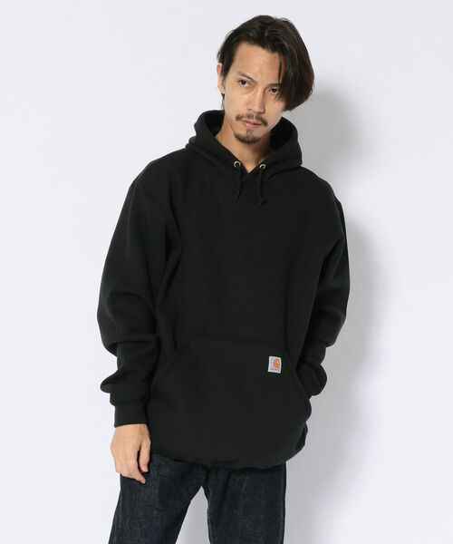 Carhartt(カーハート)の「Carhartt(カーハート) Midweight Hooded Sweatshirts フード付きスウェット(パーカー)」|ブラック