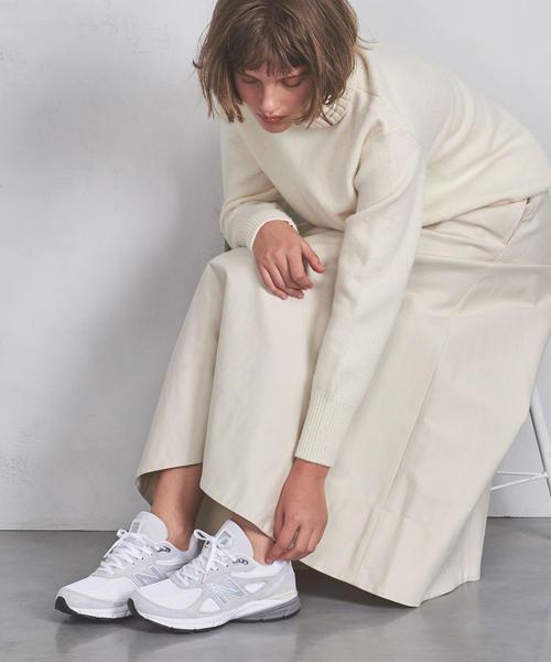 別注<New Balance> M990v4 USA スニーカー WOMENS†