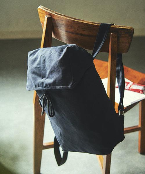 【TONE SELECT BAG】キャンバスボンサックリュック
