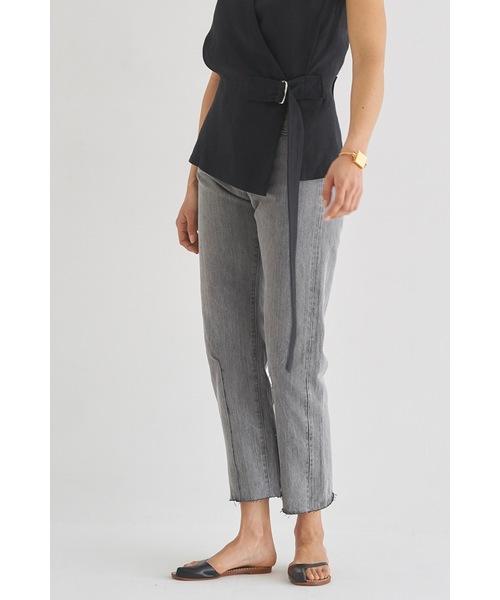 最適な材料 VINTAGEジャストウエストリメイクテーパードデニム(デニムパンツ)|SEA(シー)のファッション通販, 100%本物:460ea7f8 --- 888tattoo.eu.org