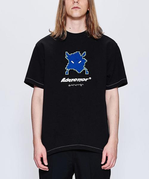 <ADER error> S/O CROP TOP/Tシャツ