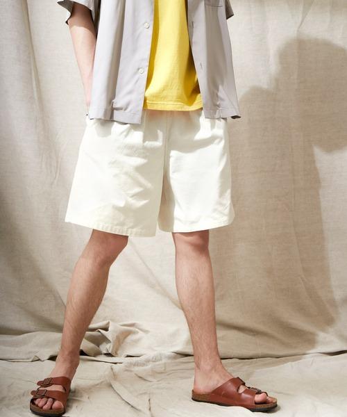 サマーコーデュロイストレッチ ワイドシルエットショーツ EMMA CLOTHES 2021SUMMER