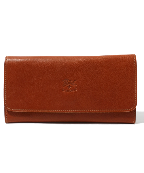 IL BISONTE(イルビゾンテ)の「ILBISONTE / ORIGINAL LEATHER / LONG WALLET(財布)」|ライトブラウン