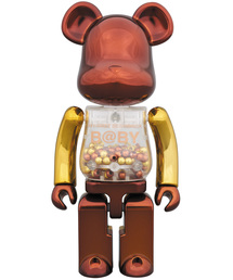 BE@RBRICK(ベアブリック)の超合金 MY FIRST BE@RBRICK B@BY Steampunk Ver.(フィギュア)