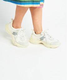VOLUME SOLE スニーカーホワイト