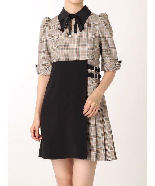速くおよび自由な アシンメトリーバイカラーワンピース(ワンピース) EATME(イートミー)のファッション通販, カワソエマチ:d5c0273b --- tsuburaya.azurewebsites.net