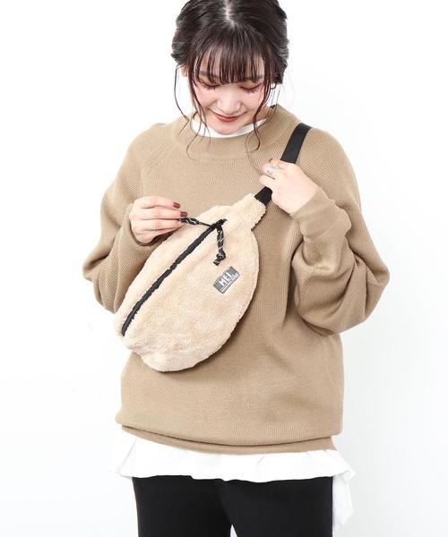 【女性にもオススメ】MEI(メイ)別注ボアフリースボディバッグ