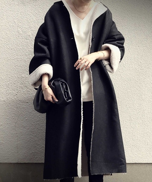 【即納&大特価】 デニムボアコート(その他アウター)|antiqua(アンティカ)のファッション通販, UEDA BASE CAMP:0ba1d5d0 --- pitomnik-zr.ru